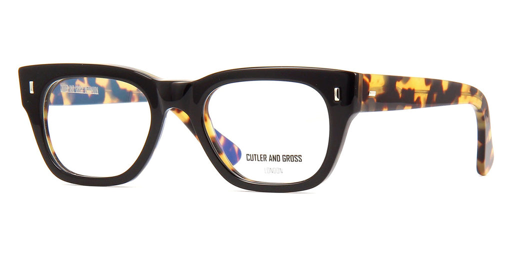 Cutler and Gross 0772V2 BOC Black on Camouflage Glasses