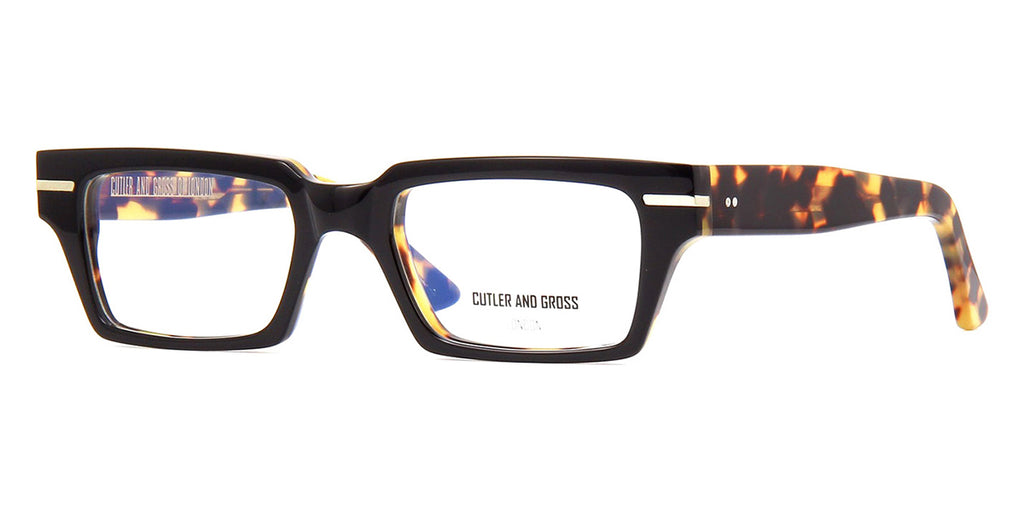 Cutler and Gross 1363 03 Black on Camouflage