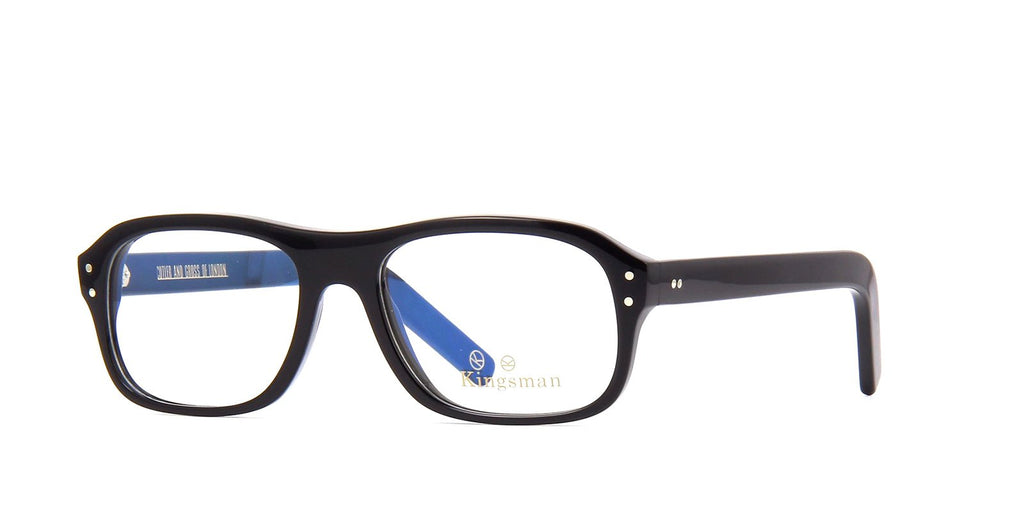 Kingsman x Cutler and Gross 0847 B Black Glasses
