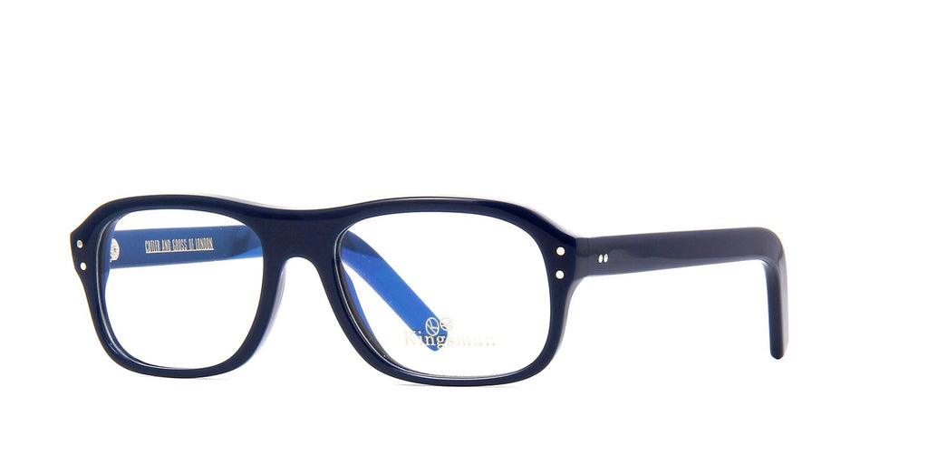 Kingsman x Cutler and Gross 0847 04 MV Blue Glasses