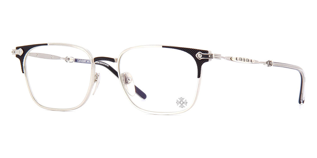 chrome hearts oral overhaul brushed silver and matte black