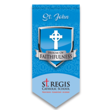 Load image into Gallery viewer, Adult House Shirt - BLUE St. John House of Faithfulness