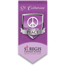 Load image into Gallery viewer, Youth House HOODIE - PURPLE St. Catherine House of Peace
