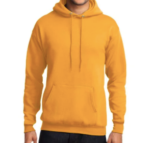 Adult House HOODIE - YELLOW St. Philip House of Joy