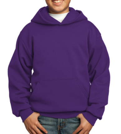 Youth House HOODIE - PURPLE St. Catherine House of Peace