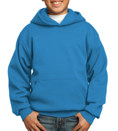 Youth House HOODIE - BLUE St. John House of Faithfulness