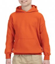 Load image into Gallery viewer, Youth House HOODIE - ORANGE St. Monica House of Patience