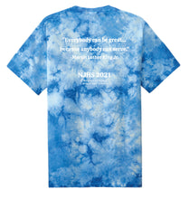 Load image into Gallery viewer, Limited Edition: St. Regis Support SOS Tie Dye YOUTH T-shirt