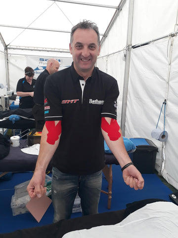 Taping for biceps pain, Scott Physio IOMTT 2017