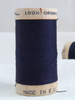 Wooden reel of organic cotton sewing thread
