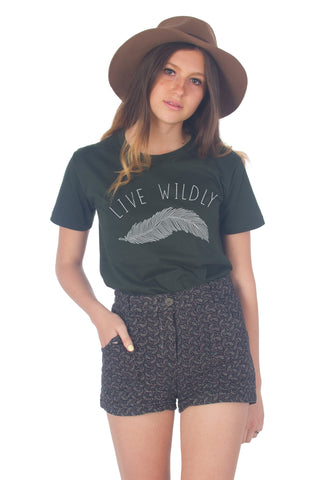 Live Wildly T-Shirt