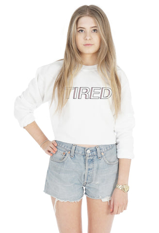 Tired Crop Sweater