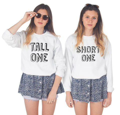 Tall One / Short One BFF Sweaters