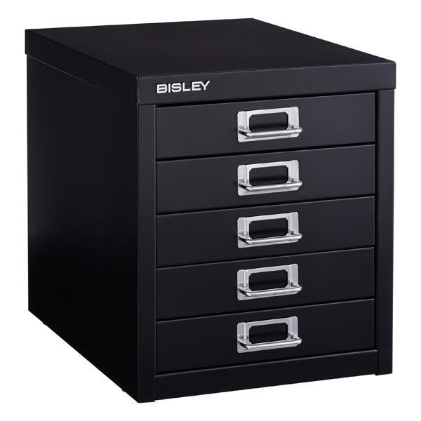 Bisley MultiDrawer (5 drawer) - black