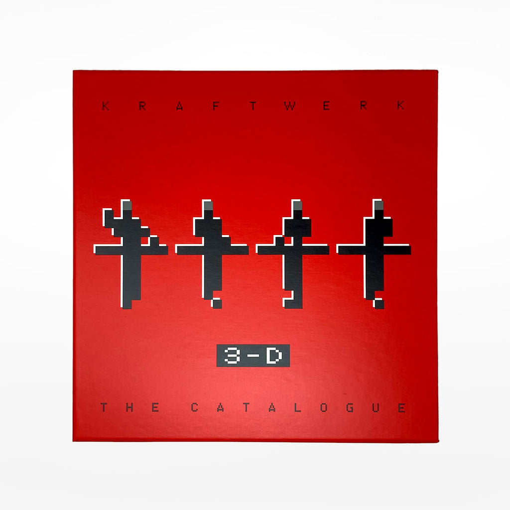 Kraftwerk 3-D 12345678 Blu-Ray DVD & Book set