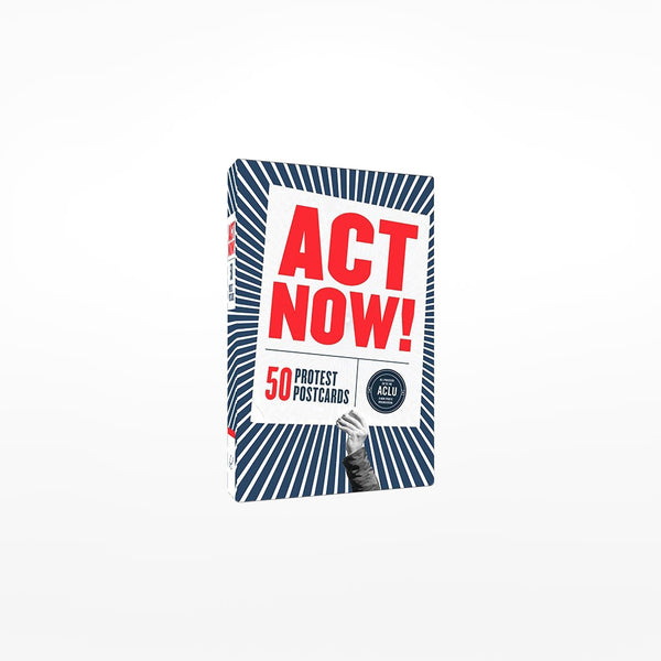 Act Now! Postcard Book