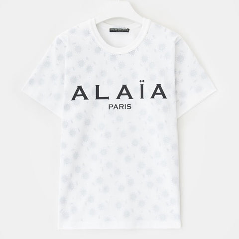 Alaïa Paris Logo T-Shirt - XL Red