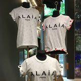 Alaïa Paris Logo T-Shirt