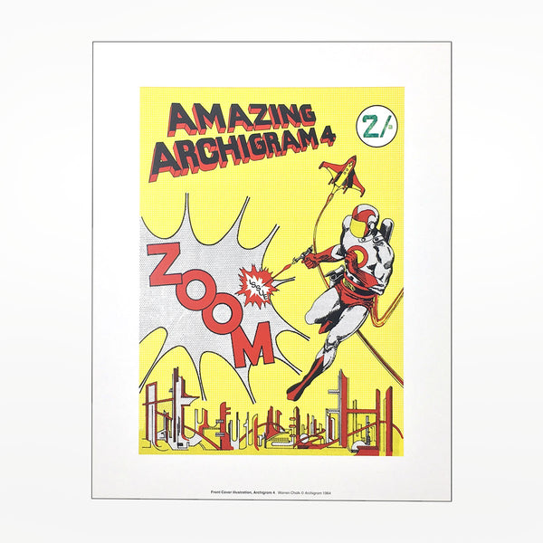 Amazing Archigram 4 print - large format A1
