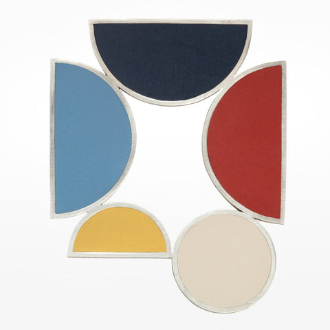 Oxx Composition of Colours Brooch I