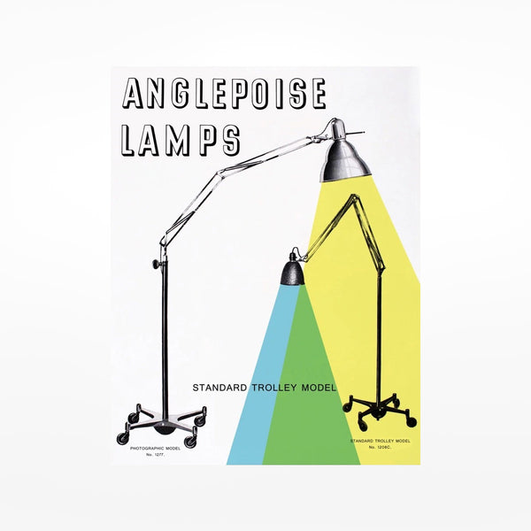 Land of Lost Content Anglepoise Lamps Print