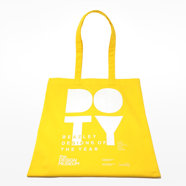 Beazley Designs of the Year 2018 Tote Bag - yellow