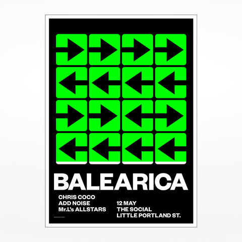 Balearica 12 May Print