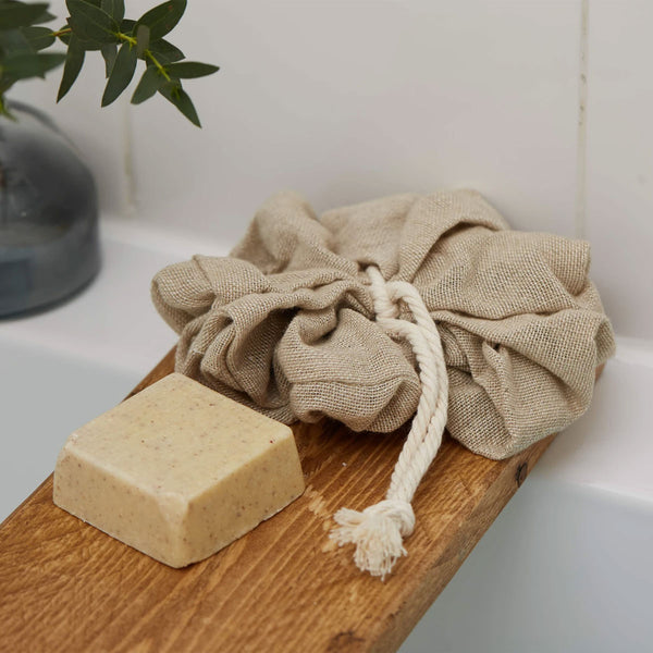 Organic Cotton Bath Pouf