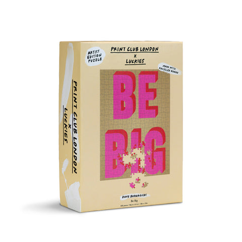 Be Big Jigsaw Puzzle
