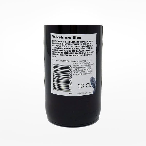 Velvets Are Blue beer - 330ml