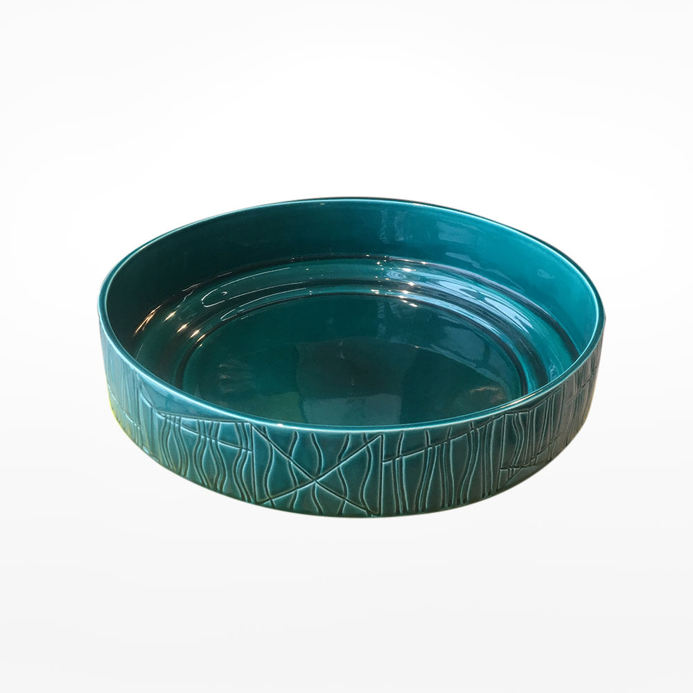 Bethan Laura Wood for Bitossi Ceramiche bowl F in green