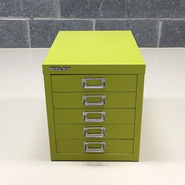 Bisley 5 Drawer Unit - Mimosa (Ex-Display)