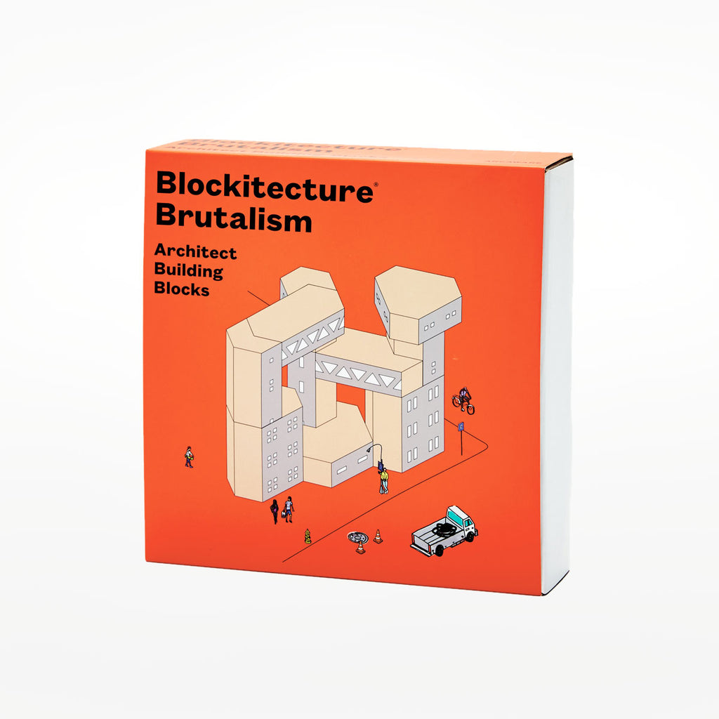 Blockitecture Brutalism building blocks