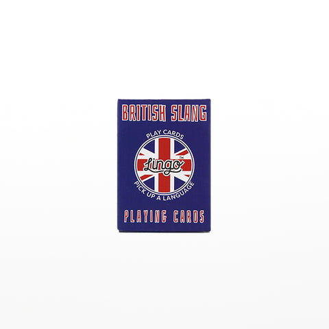 LINGO™ British Slang Playing Cards