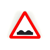 Road Sign Brooches