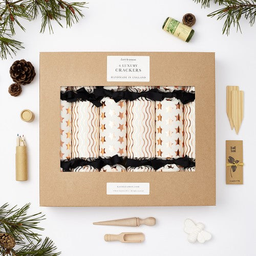 Katie Leamon Christmas Crackers - copper foil
