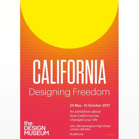 California Designing Freedom poster
