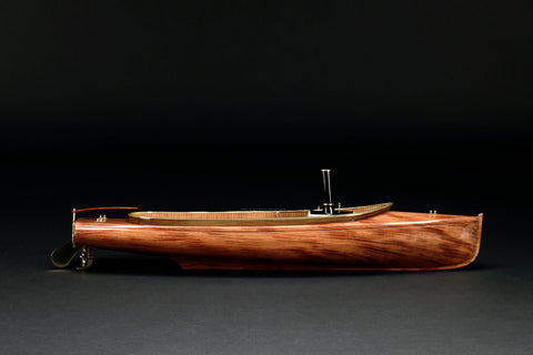 Cartier Model of a Steam Launch