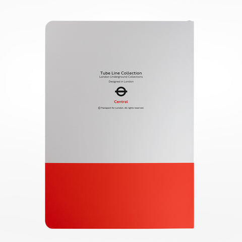 Central Line A5 Notebook