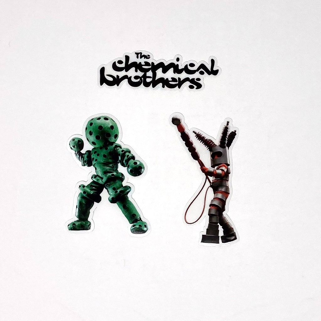 The Chemical Brothers Sticker Set