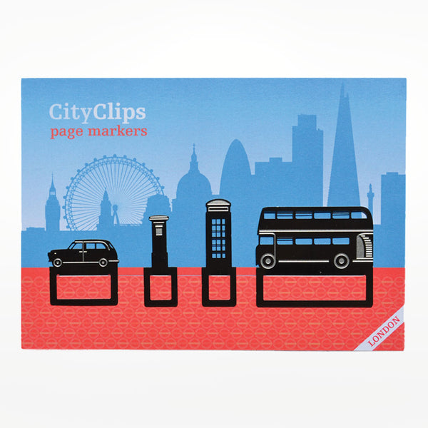 City Clips Page Markers - London Icons