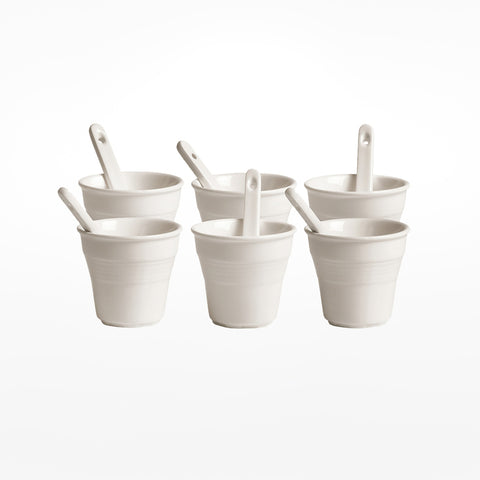 Coffee Cups & Stirrers Set
