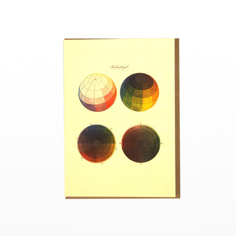 Colour Spheres gift card