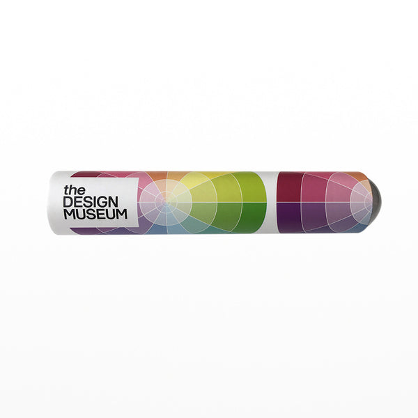 Colour wheel teleidoscope