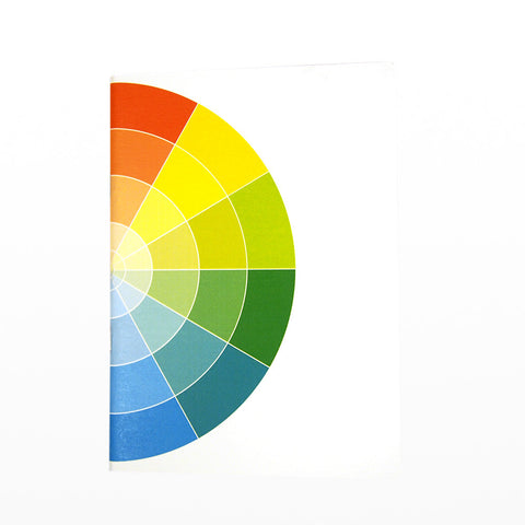 Colour wheel notebook