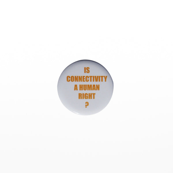 Is connectivity a human right? badge