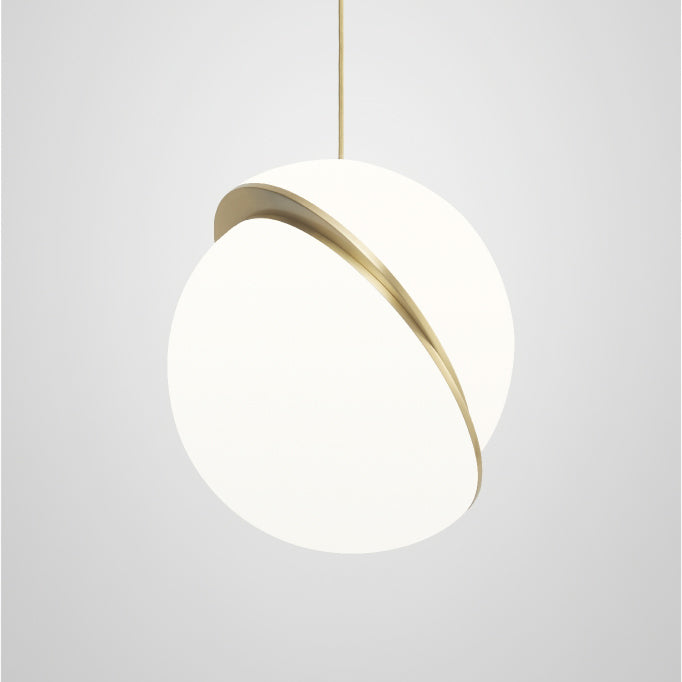 Mini Crescent Pendant Light
