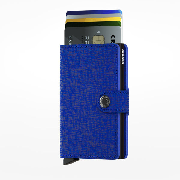 Secrid Miniwallet blue black
