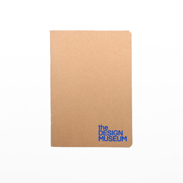 Design Museum A5 notebook - blue
