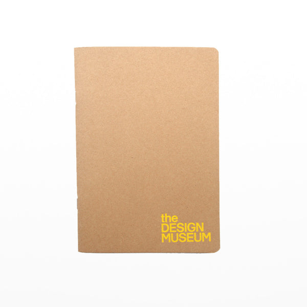 Design Museum A5 notebook - yellow